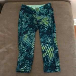 Blue and Green Work Out Pants